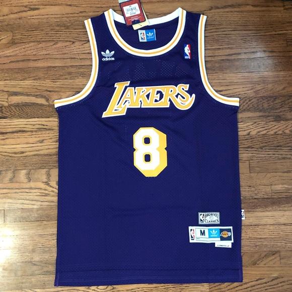 kobe bryant Shirts | Kobe Bryant 8 Purple La Lakers Swingman ...